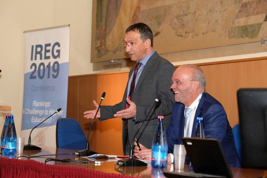 La UVa presente en la conferencia IREG «Rankings: Un reto para la educación superior»